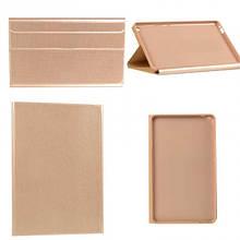 Чехол книжка кожаный Goospery Folio Tab для Huawei MediaPad T3 10 золотистый