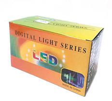Новогодняя светодиодная гирлянда LED 240-M диодов мульти водопад, фото 3