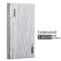Универсальная батарея hoco. b12b (13000 mAh) WOOD GRAIN
