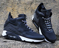 Кросівки Nike Air Max 90 Sneakerboot Black White