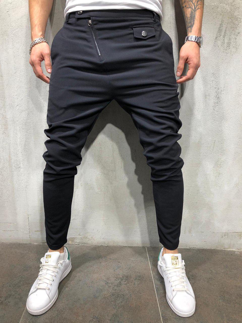 Мужские брюки черные Р1018