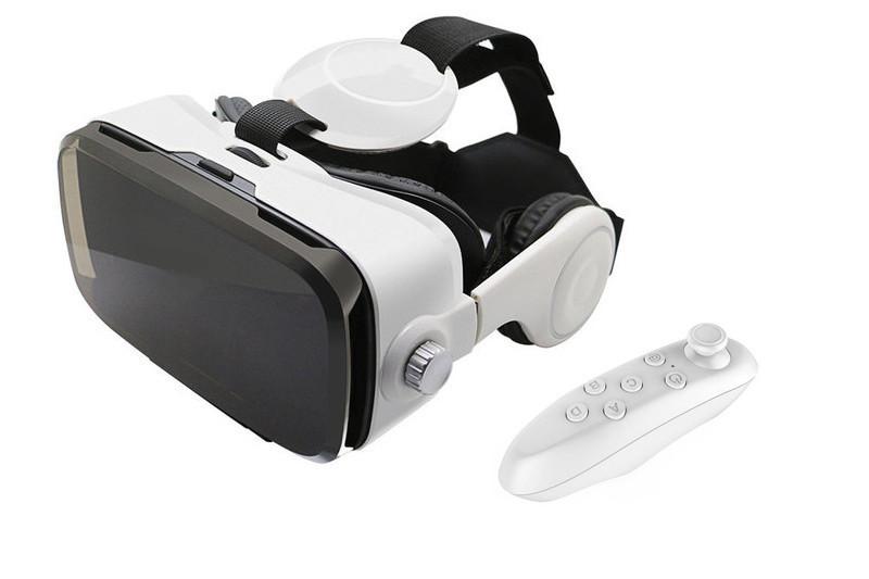 Окуляри віртуальної реальності VR BOX Z4 з навушниками і пультом УЦІНКА (201106)