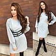 Платье-туника с поясом , фото 5