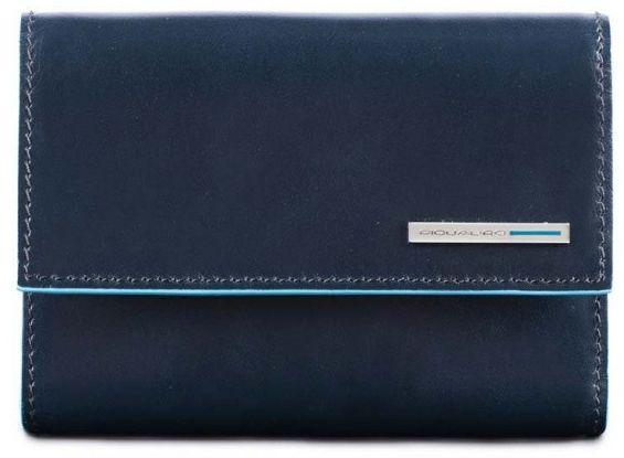 Женское портмоне Piquadro BL SQUARE/N.Blue PD4571B2R_BLU2 синий