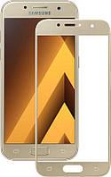 Защитное стекло Mocolo 3D Full Cover Tempered Glass Samsung Galaxy A7 2017 (A720) Gold