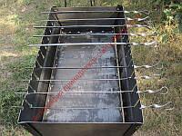 Мангал туристический на 12 шампуров