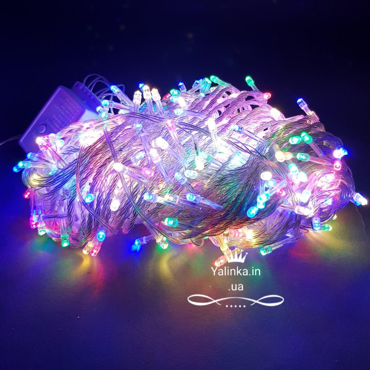 Гирлянда электрическая LED 500 новогодняя мульти -разноцветная   LED