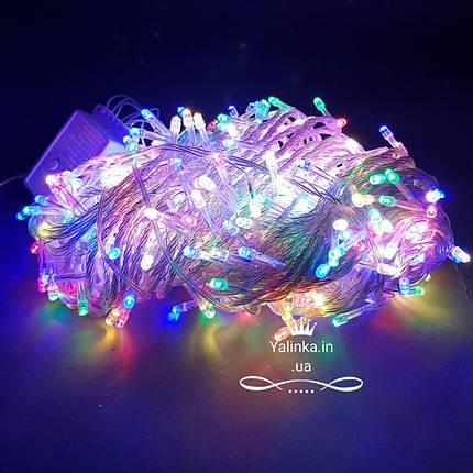 Гирлянда электрическая LED 500 новогодняя мульти -разноцветная   LED , фото 2