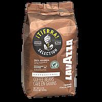 "Кофе в зернах ""Lavazza Tierra"" 1kg 100% Arabica Original"