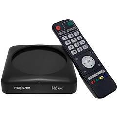 Смарт ТВ приставка Magicsee N6 Max | RK3399 | 4ГБ/32ГБ | DDR4 | Android TV Smart box Без налаштування
