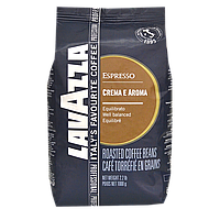 """Кофе в зернах """"Lavazza Crema e Aroma Espresso"""" 1kg 80/20 Original"""