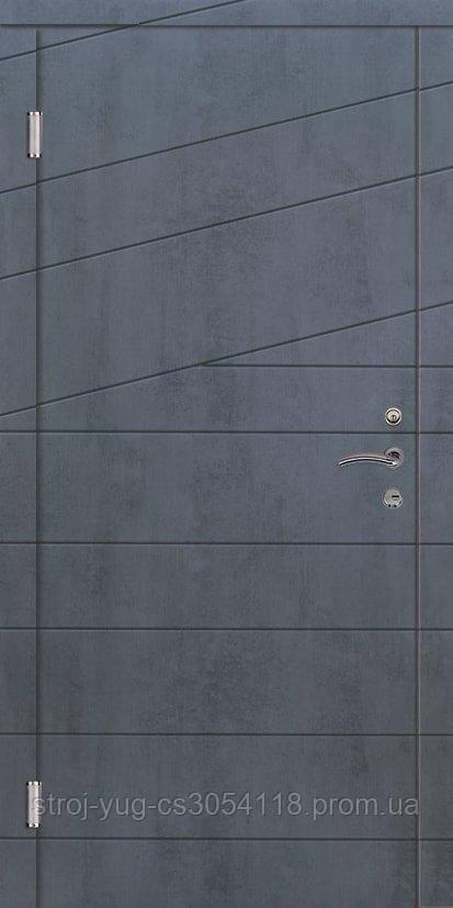 Дверь входная металлическая «Стандарт», Диагональ 2, 850*2040*70