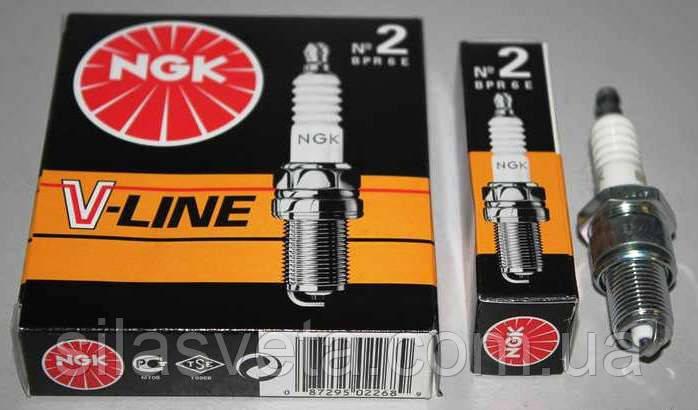 Свечи зажигания NGK BKR6E (6962)