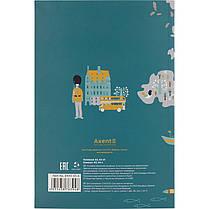 Блокнот Axent Maps 8443-05-А, термобиндер, А5, 64 листа, фото 3