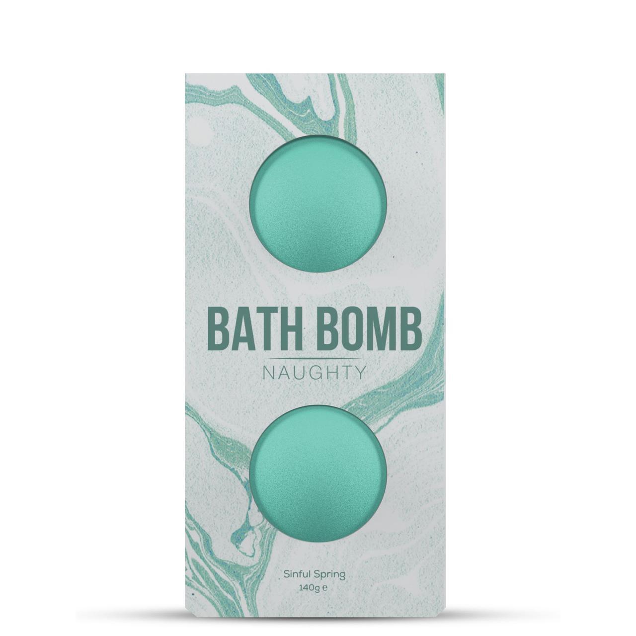 Набор бомбочек для ванны Dona Bath Bomb Naughty Sinful Spring (140 гр) с афродизиаками и феромонами