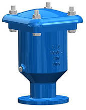 Воздушный клапан аэрационный однокамерный T.I.S service (Италия) E050 TIS DN50 PN10 (ДУ50 РУ10) ТИС