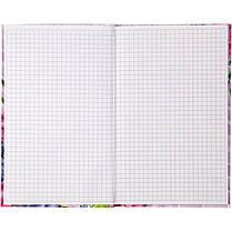 Книга записная Axent Aquarelle 8435-06-A, интегральная обложка, B6, 80 листов, клетка, фото 2