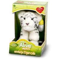Интерактивная мягкая мини-игрушка - белый тигренок Wow Wee