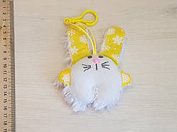 Брелок мягкая игрушка, сувениры для сумок, рюкзаков, ключей и одежды ручной работы №4