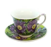 Сервиз чайный фарфоровый 12 пр. Синий цветок 524