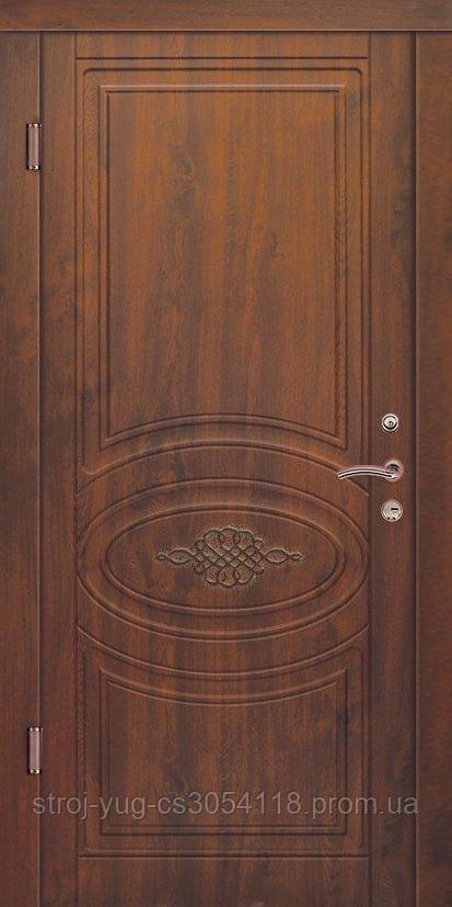 Дверь входная металлическая «Стандарт», Кантри, 850*2040*70