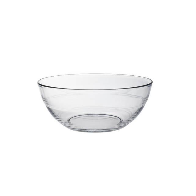 Салатник Duralex Lys, круглый, закаленное стекло, Ø 20, 1590 мл (2017AF06)