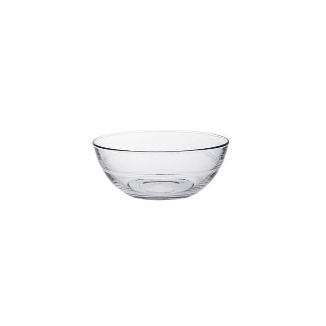 Салатник Duralex Lys, круглый, закаленное стекло, Ø 14, 500 мл (2015AF06)