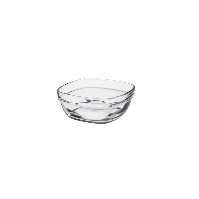 Салатник Duralex Lys Carré, квадратный, закаленное стекло, 14х14 см, 610 мл (2033AF06)