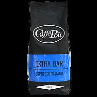 """Кофе в зернах """"Caffe Poli Extrabar"""" 1кг 75/25"""