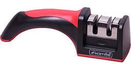 Точилка для ножей Kamille 19х5.х6см с двумя видами точил