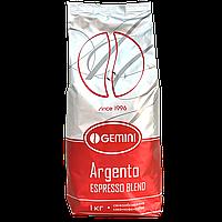 """Кофе в зернах """"Gemini Argento"""" 1kg  50/50"""