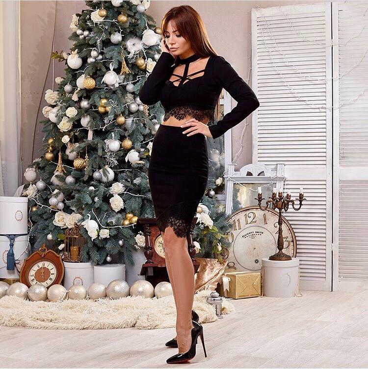 Костюм юбка и топ в расцветках 26094  Интернет-магазин модной ... b15c21383ea