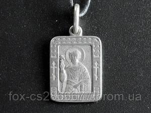 Именная нательная икона Леонид