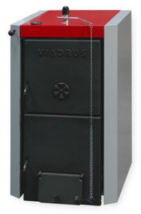 Чугунный твердотопливный котел Viadrus u22 d 8, 40 кВт
