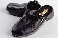 Обувь для повара сабо мужские кожа, фото 1