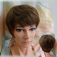 Парик из натуральных волос русый NICOLE HH - 10