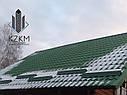 Снегозадержатель для металлочерепицы, снегозадержатель на металлочерепицу, снегозадержание на крыше, фото 2