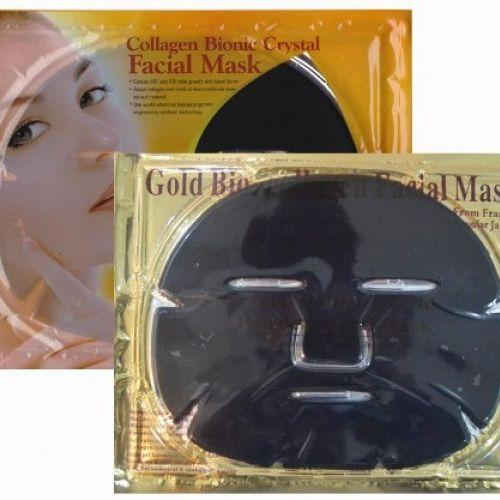 Маска патч для лица Collagen Mask Black