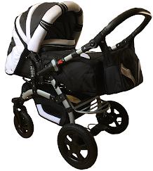 Универсальная коляска-трансформер Trans baby Prado lux (10/white)