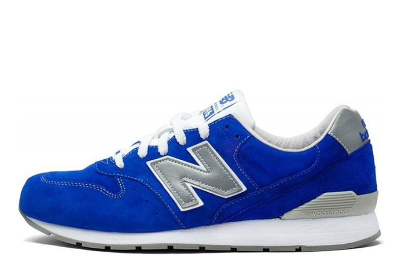 Оригинальные мужские кроссовки New Balance 996 Blue Нью Баланс 996 синие