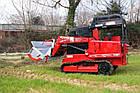 Міні навантажувач з лісовим мульчером, мульчер лісовий, подрібнювач дерев Dvina Colorado, фото 5