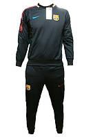 Детский футбольный костюм Барселоны (тренировочный), сезон 2018-2019