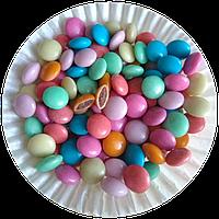 Драже цветное из молочного шоколада 0,2 кг