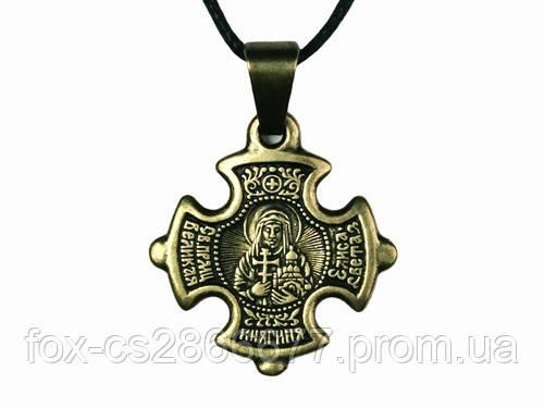 Нательный крест Елизавета