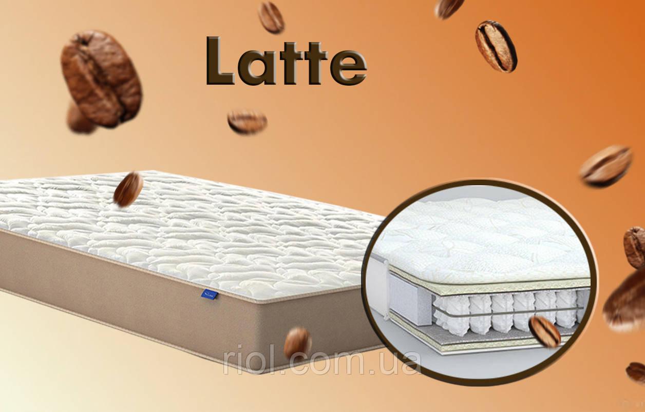 Матрас с блоком независимых пружин от MatroLuxe Latte / Латте