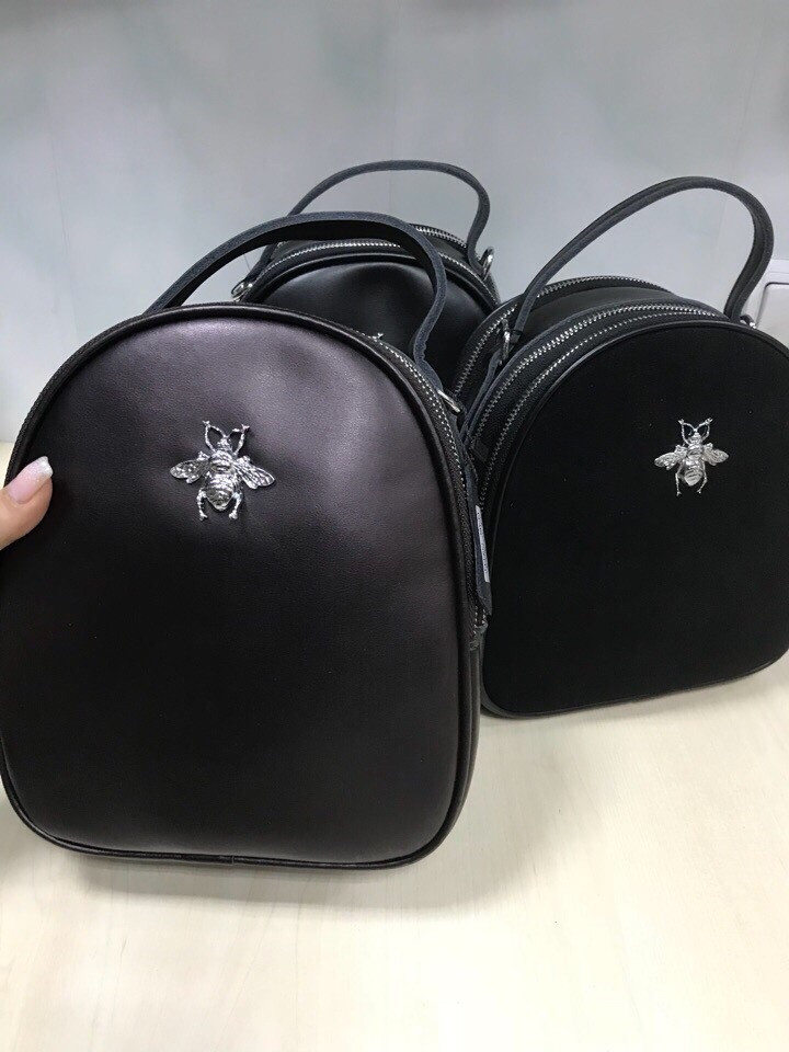 Рюкзак 🎒 в стиле трансформер Пчела кожа