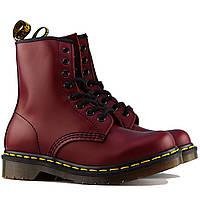 Ботинки Dr. Martens Boots Cherry Red Smooth (реплика), фото 1