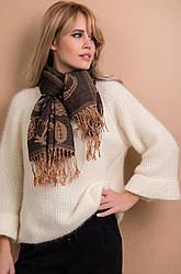 Элегантный шарф с узорами