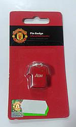 Манчестер Юнайтед Значок Футболка