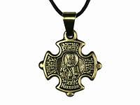 Нательный крест Николай